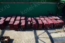 Водогрейные твердотопливные котлы в наличии на заводе